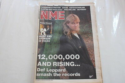 Nme 21 January 1989 Def Lepaprd Marc Almond Gene Pitney The Pogues Suicide
