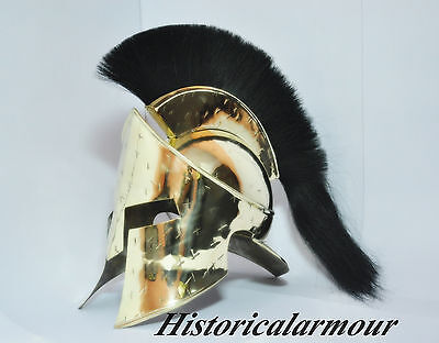 Spartan King Leonidas 300 Movie Helmet Larp/Role play/ Roman Reenactment Costume
