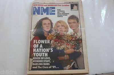 Nme 7 January 1989 House Of Love Wonders Tuff Morrissey Smiths Bangles New Order
