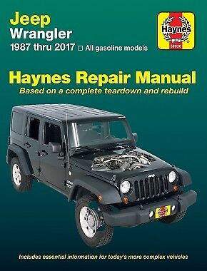repair manual jeep wrangler yj 87 2017 soft top owners book shop rh picclick com 88 Jeep 88 YJ 3 in Lift