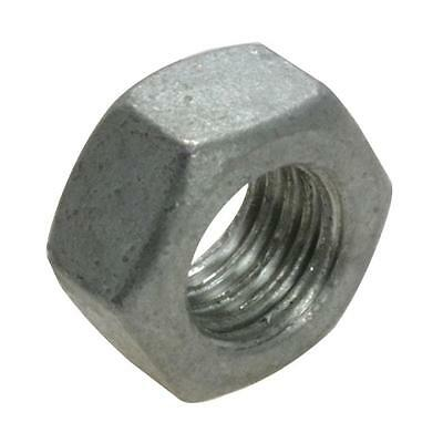 Qty 50 Hex Standard Nut M10 (10mm) Galvanised Class 8.8 Hot Dipped Galv Full