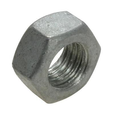 Qty 20 Hex Standard Nut M12 (12mm) Galvanised Class 8.8 Hot Dipped Galv Full
