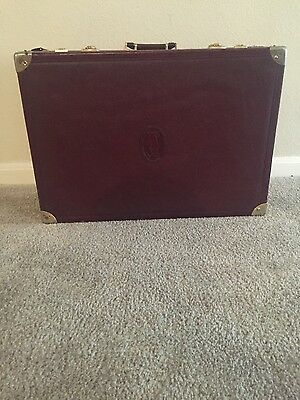 Authentic Must de CARTIER Trunk Luggage/Suitcase
