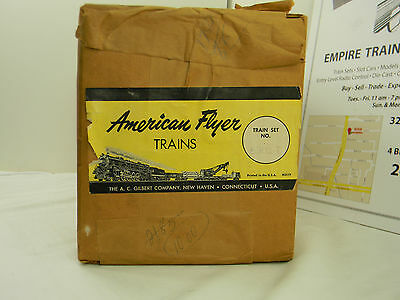 "American Flyer Factory Sealed 5301T ""The Crusader"" set *NEVER OPENED*"