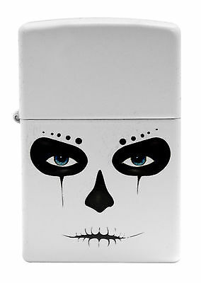 Zippo Windproof Lighter With Alien, Skull Mask, 28828, New In Box