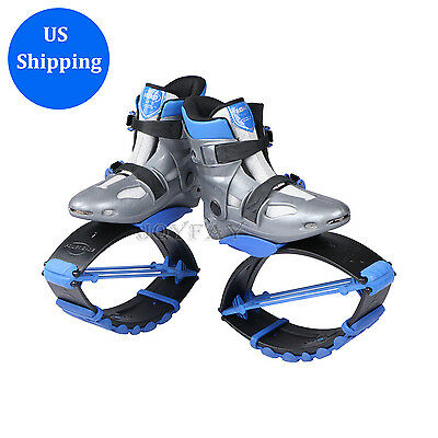 Kangoo Jumps Blue Fitness Jump Shoes Jumping Shoes Bounce Shoes Fitness Shoes