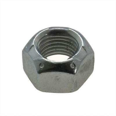 "Qty 1000 Hex Cone Lock Nut 1/4"" UNC Zinc Plated Steel Imperial Grade C BSW ZP"