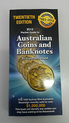 2013 Pocket Guide to Australian Coins and Banknotes by Greg McDonald