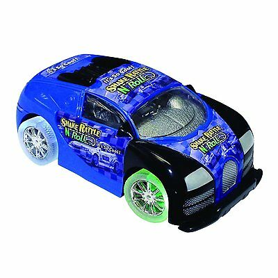 Shake Rattle and Roll Car - Blue