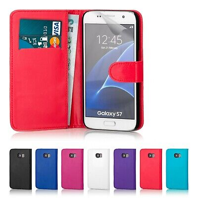 32nd Book Wallet PU Leather Case Cover for Samsung Galaxy S7 & S7 Edge