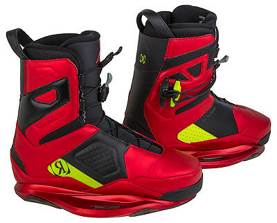 RONIX ONE Boots 2015 anodized cherries/nuclear yellow Wakeboard Bindung