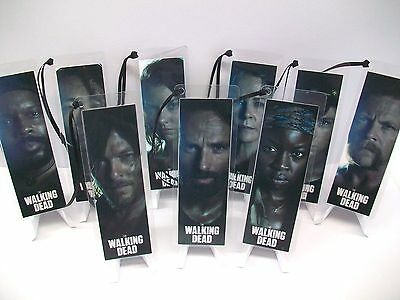 WALKING DEAD Bookmark 9 Piece Set Collectible Complements poster dvd book comic