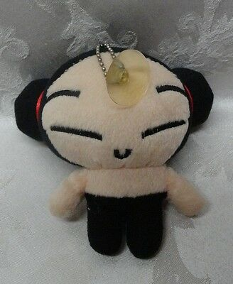 "SOK Sonokong Vooz Japanese Anime Pucca 5"" Suction Cup Rare HTF Japan Label Doll"