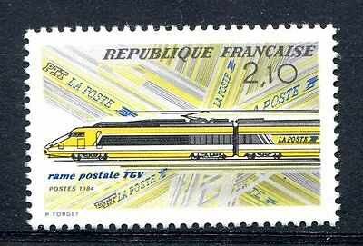 France 1984 Trains Railways Locomotives  MNH