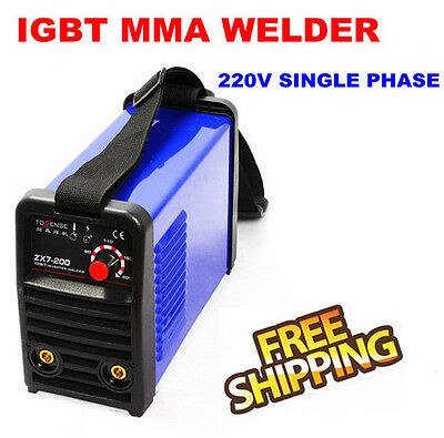 220V 200A IGBT INVERTER MMA/ARC WELDING MACHINE with Accessories