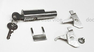 Srs2194 Anderson Hickey File Filing Cabinet Replacement Lock & Keys, Push Style