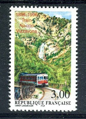 France 1996 Trains Railways Locomotives  MNH