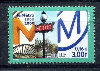France 1999 Trains Railways Locomotives  MNH