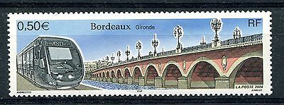 France 2004 Trains Railways Locomotives  MNH