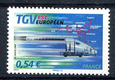 France 2007 Trains Railways Locomotives  MNH