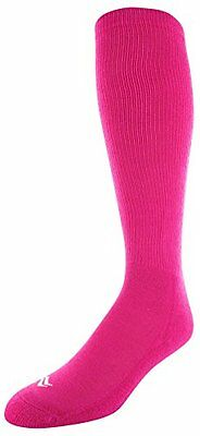 Sof Sole Youth Allsport Team Socks, BCA Pink, Youth Shoe Size 10-4.5