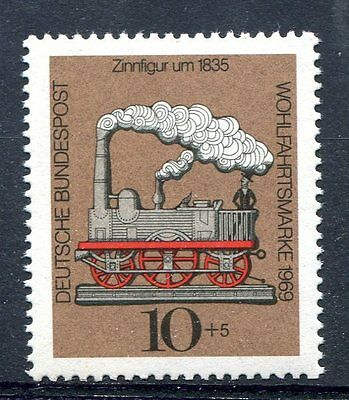 Germany 1969  Trains Railways Locomotives  MNH