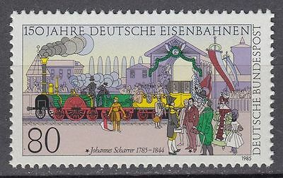 Germany  1985 Trains Railways Locomotives  MNH