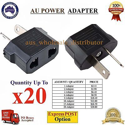 NEW Travel Power Plug Convertor USA US EU ASIA Electric Adapter Socket to AU AUS