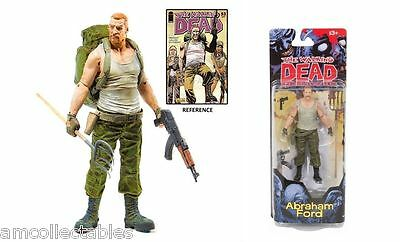 McFARLANE - THE WALKING DEAD COMIC - SERIE 4 - ABRAHAM FORD -  FIGUR - NEU/OVP