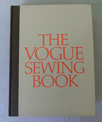 The Vogue Sewing Book 1975 Revised Edition Never Used