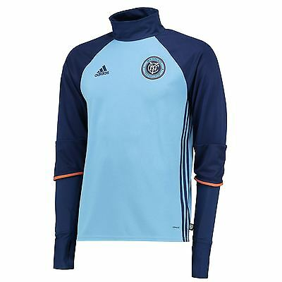 adidas Mens Gents Football Soccer New York City FC Long Sleeve Training Top