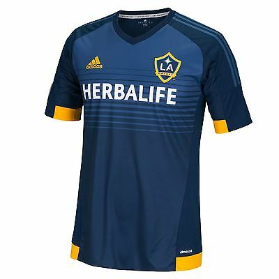 adidas Mens Gents Football Soccer LA Galaxy Away Shirt 2015/2016 Jersey