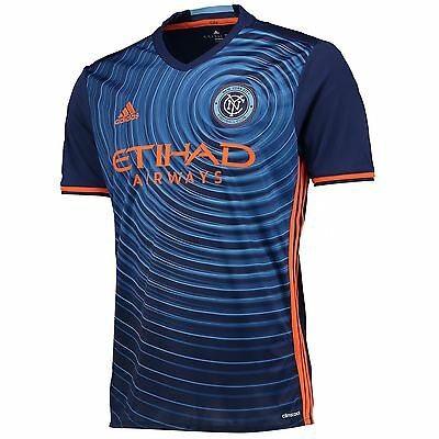 adidas Mens Gents Football Soccer New York City FC Away Shirt 2016 Jersey