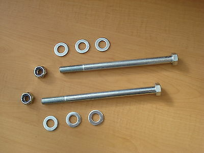 Land Rover Series 2 2A & 3 bulkhead To Chassis tie bolts High Tensile (set-2).