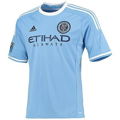 adidas Mens Gents Football Soccer New York City FC Home Shirt 2015/2016 Jersey