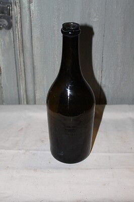 FRENCH ANTIQUE ITEM - OLD BLOWN FRENCH BOTTLE end 18th - P137
