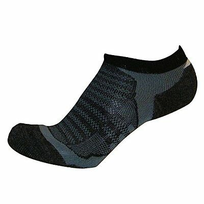 No-Show Wool Running Socks - Ultra-Light Merino Wool Athletic Socks, Trail Socks