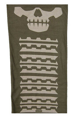 Mil-Spec Monkey Skull Mask Multi Wrap - Dusty Brown - New - Shemagh