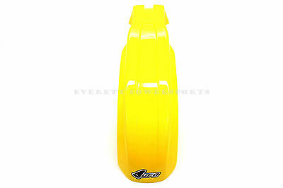 New Yellow Front Fender 1989-2000 Suzuki RM125 RM250 UFO Mud Guard #Z26