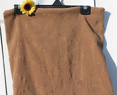 "16"" Square Brown Fabric Cover FREE SHIPPING!"