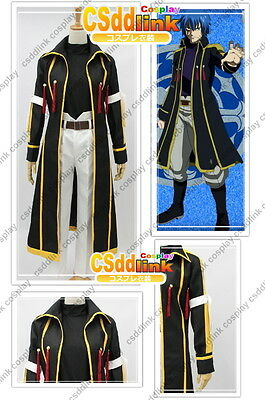 Fairy Tail Laxus Dreyar cosplay ONLY thick coat any sizes csddlink