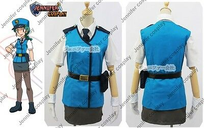Pokemon XY Officer Jenny Cosplay Costume uniform