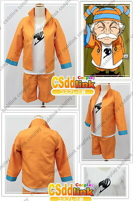 Fairy Tail guild master Makarov Cosplay Costume outfit csddlink