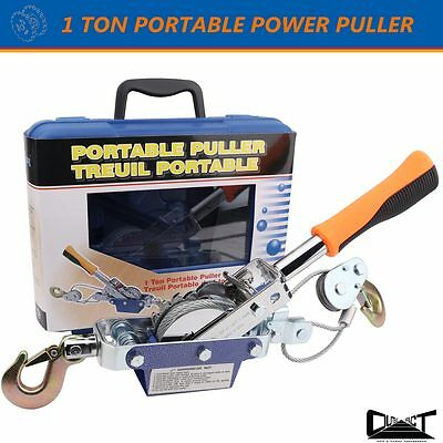 1 Ton TAIWAN PROFESSIONAL MADE PORTABLE  POWER PULLER WINCH HAND PULLER 10025
