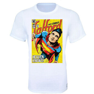 Heaven Knows Morrissey The Smiths SuperMan T-Shirt - Kids & Adult Sizes