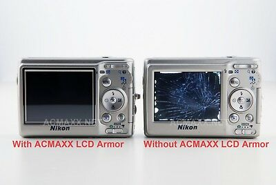 "ACMAXX 3.0"" Thick Film LCD SCREEN ARMOR PROTECTOR Canon Powershot G3X G3-X G-3X"