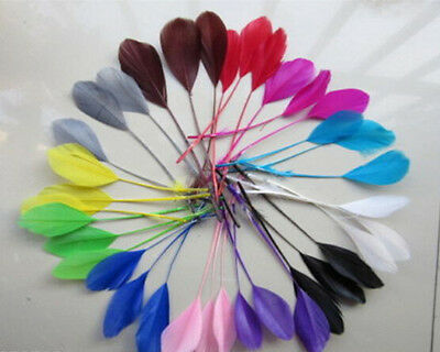 Wholesale 10-1000PCS Beautiful 12-18cm/5-7inches Handmade Goose Feathers Crafts