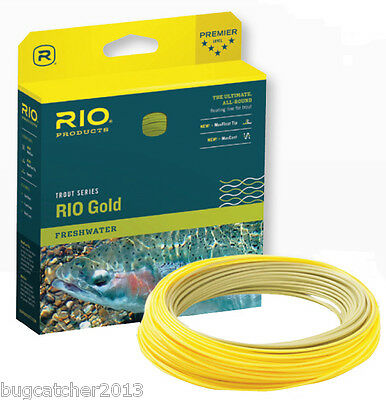 RIO Gold Fly Line WF-6F  **SHIPS WORLDWIDE**