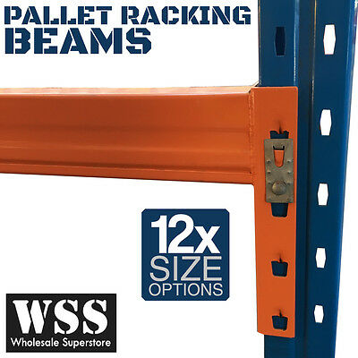 Pallet Racking Beams NEW Dexion Compatible Warehouse Storage Shelves