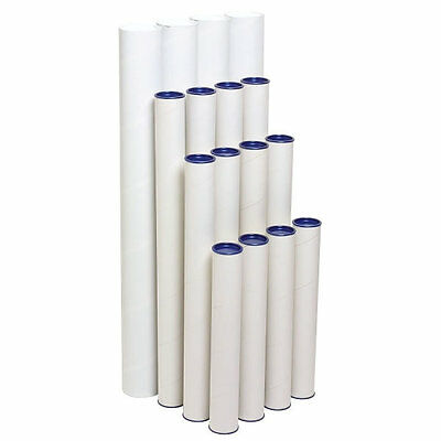 Marbig Mailing Tubes 720x60mm 4 Pack